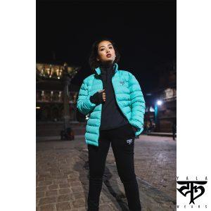 Mint Puffer Jacket